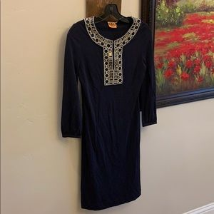 Authentic Tory Burch size small jeweled dress